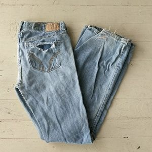 Cali Flare Distressed Hollister Jeans